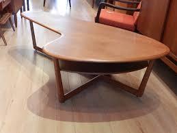 Boomerang Coffee Table Zig Zag Teak Coffee Table Sold