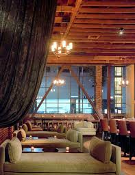 classic contemporary restaurant interior design of district soma