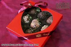 White Chocolate Covered Strawberry Box White Chocolate Divani Chocolatier