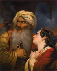 Ottoman Ruler Ali Pasha By Monvoisin Raymond Auguste Quinsac