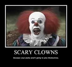 Scary Clown Meme - inspirational scary clown meme pennywise the clown funny scary