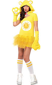 Popular Halloween Costumes Teen Girls Teen Girls Funshine Bear Costume Care Bears Oct Nov