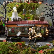 department 56 halloween decorations department 56 4054982 scary ghost hauler
