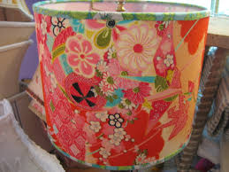 the lampshade lady blog instructions for making funky drum shades