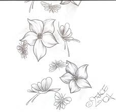 collection of 25 flower butterfly design 2
