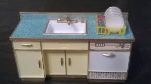 dollhouse furniture kitchen ideal princess patti kitchen sink vintage doll house