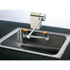 Faucet Mounted Eyewash Station Guardian G1775 Eye Face Wash Station Deck Mounted Right Hand