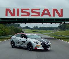 2016 nissan maxima tagged for safety car duties