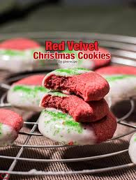 velvet christmas velvet christmas cookies give recipe