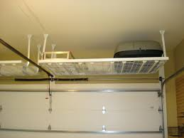 toy storage idea backyards hanging shelves in garage bike rack