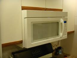 how to install over the range microwave without a cabinet over the range microwave problem appliances diy chatroom home