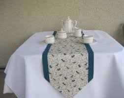 Table Runners For Dining Room Table Teal Table Runner Etsy