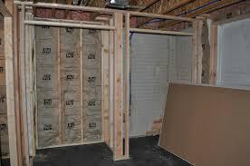 hostetlers basement update insulation u0026 hanging drywall