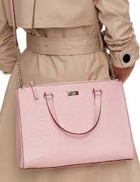 light pink kate spade bag kate spade new york bristol drive loden ostrich embossed satchel