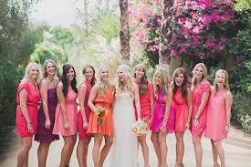 bridesmaid dresses coral and coral bridesmaid dresses ultimate bridesmaid