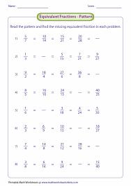 equivalent fraction using pattern frazioni pinterest