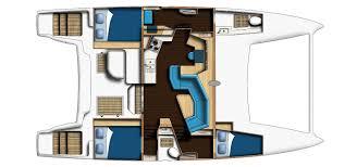 Catamaran Floor Plans Catana 42