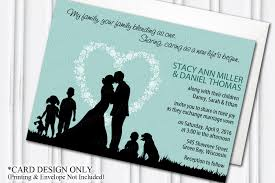 wedding invitation pouches blended family wedding invitation blending stepfamily
