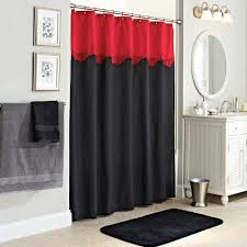 Grey Shower Curtains Fabric Best 25 Red Shower Curtains Ideas On Pinterest Red Bathroom