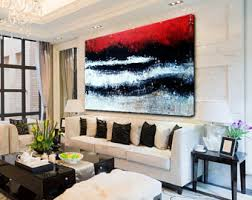 Large Artwork For Living Room by Large Paintings Etsy