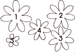 daisy flower template kids coloring europe travel guides com