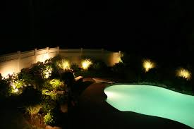 Pool Landscape Lighting Ideas Stylish Landscape Lighting Around Pool Solar Lights Designs
