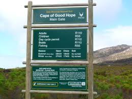 admission fees picture of cape of table mountain