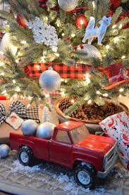 glitter truck 78 best red truck christmas images on pinterest christmas truck