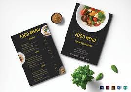 30 restaurant menu templates u2013 free sample example format
