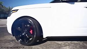 white range rover rims range rover on 24