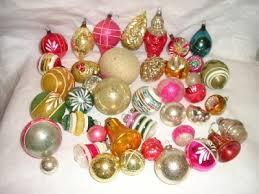 glass ornaments lights