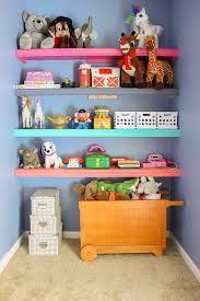 diy playroom shelves
