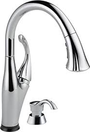 Amazon Delta Kitchen Faucets Delta Faucet 9192t Sd Dst Addison Single Handle Pull Down Kitchen