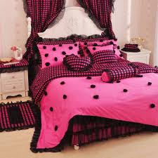 Girls Bedding Queen Size by Pink And Black Bedding Sets Polka Dot Bedding Pink Bedding And