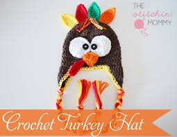 thanksgiving crafts for infants crochet turkey hat free pattern the stitchin mommy