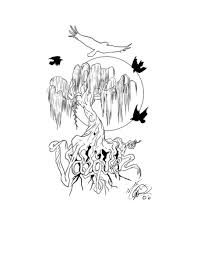 willow tree tattoos meaning amazing weeping willow tree design