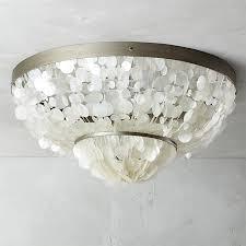 capiz flush mount light capiz flush mount l dining room and lights
