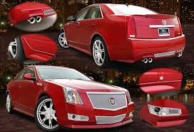 kits for cadillac cts kits side skirts and accents for cadillac cts