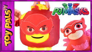 pj masks toys owlette giant pj masks owlette play doh surprise