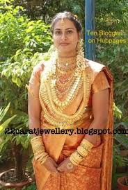 kerala traditonal bridal jewellery jewellery designs
