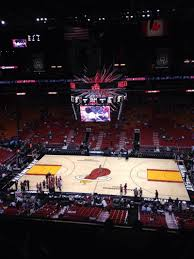 American Airlines Arena Floor Plan by American Airlines Arena Section 308 Home Of Miami Heat