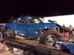 corvette car crash woodruff and tony bynes horrifying sgmp crash dragzine