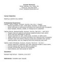 Cashier Job Description Resume by Sample Functional Resume For Cashier Cover Letter For Job