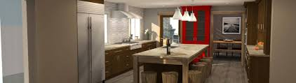 Tri Level Home Kitchen Design by Estate Homes Llc Residential Design Build Remodel