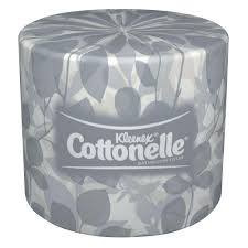 wrapped toilet paper kleenex cottonelle white 2 ply bathroom tissue of 60