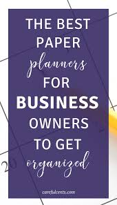 the best small business planners for freelancers to finally get