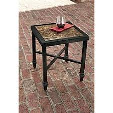 Side Patio Table Patio Tables Outdoor Tables Sears