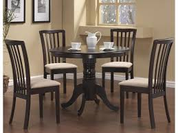 5 pc round pedestal dining table modern 5 pc dining table dining chairs alexandria va furniture stores