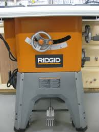 Ridgid Table Saw Extension Ridgid R4512 10