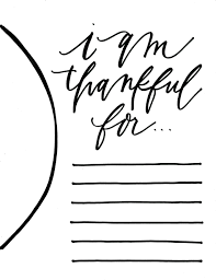 thanksgiving printable templates 6 thanksgiving printable